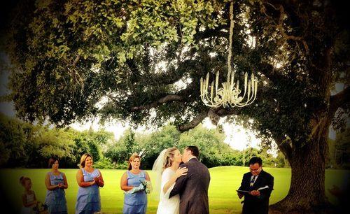 Rote wedding